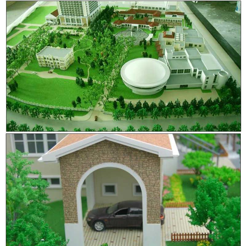 DIY miniatura Landsape/modelo de Layout/scence modelo Acessórios de vidro muitas cores Do Terreno em pó modelo CC