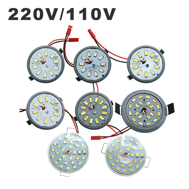 220V 110V LED Downlight Lamp Integrated Light Cup 3W 5W 6W LED Ampoule SpotLight Round Ceiling Recessed Umbrella LED Corn Bulb