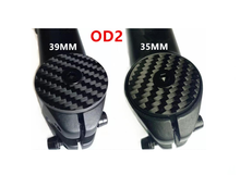 31.8mm Carbon headset top cap Bicycle Stem carbon Cap with Ti Screw For OD2 Steerer Fork Tube Cap Headset Cap Cover(China)