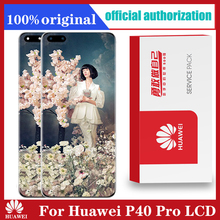 Original 6.58 Display Replacement For Huawei P40 Pro LCD Touch Screen Digitizer Assembly For Huawei P40Pro Repair Parts