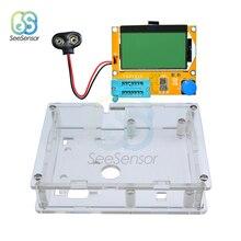 LCR-T4 Mega328 Multimeter Transistor Tester ESR Meter Diode Triode Capacitance MOS PNP NPN LCR 12864 LCD Screen