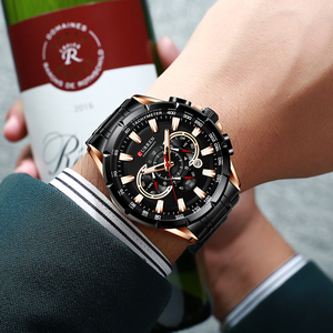 Image 2 - CURREN Mens Watch Fashion Sport Chronograph Wristwatch Mens Watches Top Brand Luxury Quartz Watch Stainless Steel Band