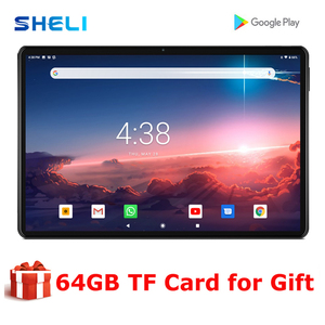 Hot New 10 inch Tablet Android 9.0 Octa Core 3GB RAM Dual Camera 5.0MP Tablet PC Type-C WIFI GPS 4G LTE Tablets Pad 10.1