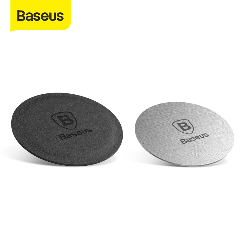 Baseus Iron Sheets For Magnetic Car Phone Holder Metal & Leather Iron Sheets Plate Use Magnet Mount Mobile Phone Holder Stand