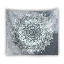 Indian Mandala Tapestry Wall Hanging Thin Polyester Bohemian Cloth Tapestries  Picnic Throw Rug Blanket Shawl