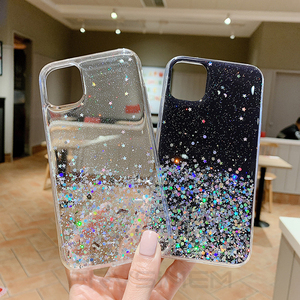 Bling Glitter Soft Star Case Clear Cover for Honor 8S 2020 8A Prime Pro 8C 8X 9X Global China Premium 9A 9S 9C 10 Lite 10i