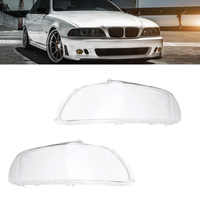 Car Front Lamp Covers Headlight Lens Headlamps Glass Lights Shell Cover Masks For BMW E39 1996 2003 Auto Accessory