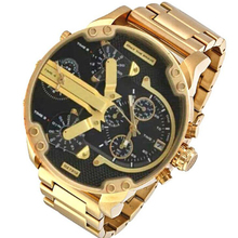 2021 trending 7313 men's sports watch Personality Big Dial  Stainless Steel Band Quartz Watches for woman