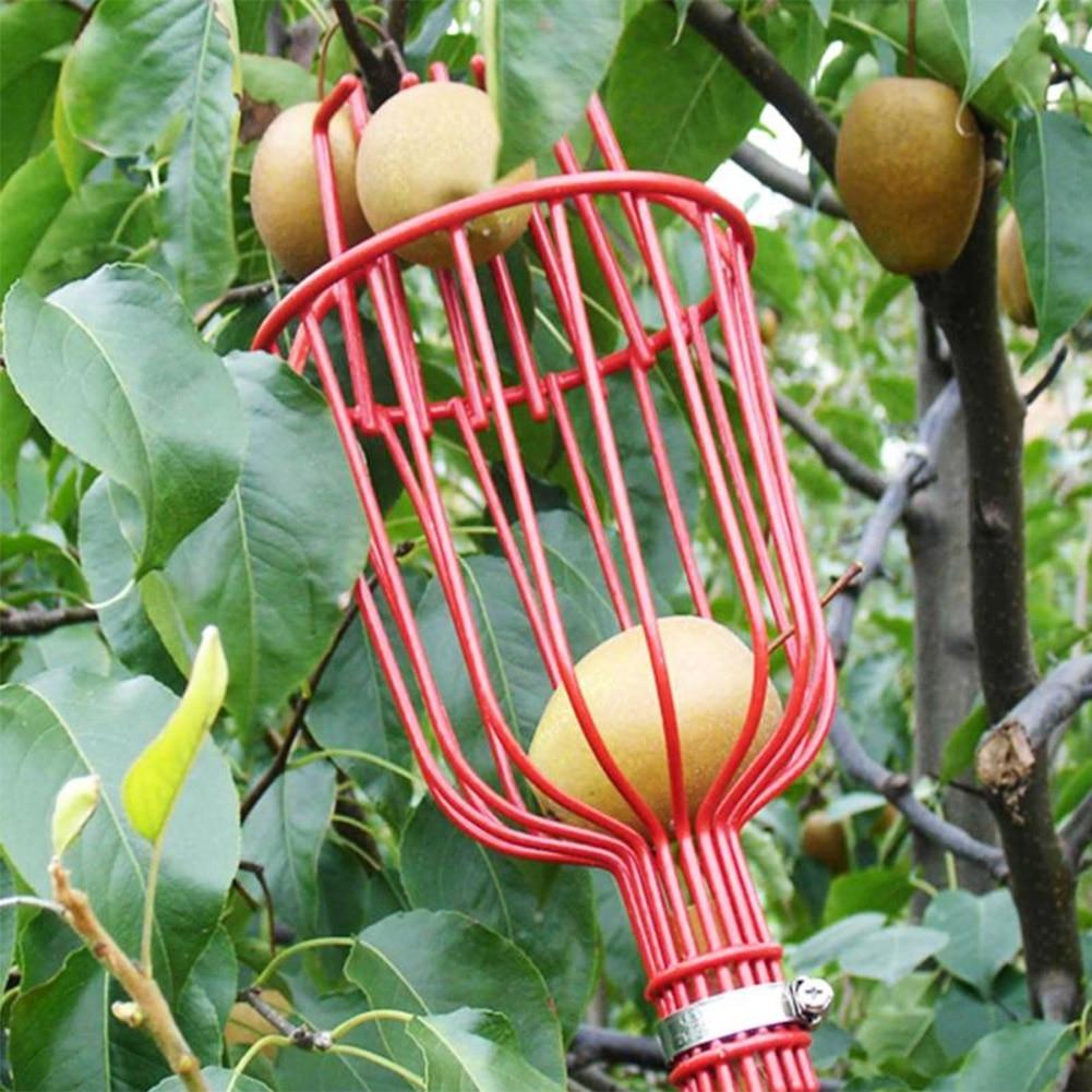 Garden Supplies Outdoor Aluminum Basket Garden Tools Fruit Picker Head Metal Fruit Picking Tools Fruits Catcher Harvest Picking