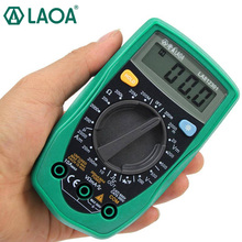 LAOA Pocket Digital Multimeter Current Voltage Resistance Detection AC/DC voltage Test