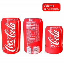 Hidden Beer Cup Case Sleeve Case Beer Cola Drink Coffee Can Cover 355ml 500ml Can Bottle Bag for Camping Travel Football Match