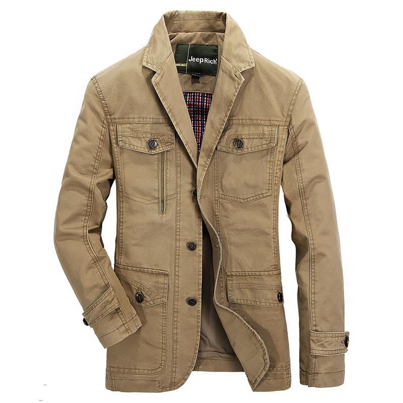 Spring Autumn Mens Casual Blazer Designer Cotton Male Suit Jacket Men Blazer Masculino Slim Fit Business Coat Plus Size M-5XL