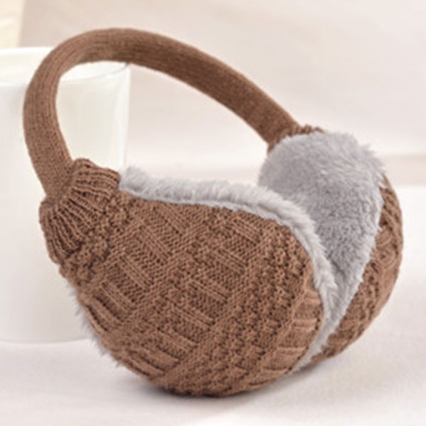 Fashion New Winter Warm Knitted Earmuffs Ear Warmers Women Girls Ear Muffs Earlap Warmer Headband TC21