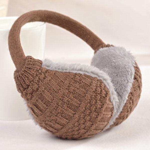 Fashion New Winter Warm Knitted Earmuffs Ear Warmers Women Girls Ear Muffs Earlap Warmer Headband TC21