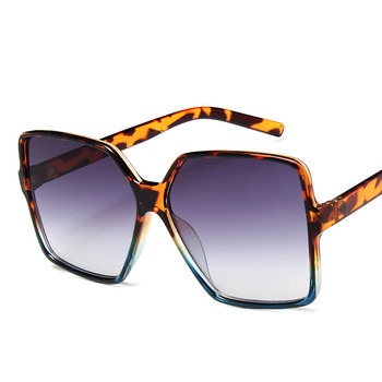 Higody Fashion Women Oversize Sunglasses Gradient Plastic Brand Designer Female Sun Glasses UV400 lentes de sol mujer 11