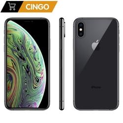 Oryginalny odblokowany Apple iphone XS iphone XS MAX 4G LTE 4G RAM 64gb/256gb ROM A12 bioniczny układ IOS12 IPHONE XS 2658mAh|Telefony Komórkowe|Telefony komórkowe i telekomunikacja -