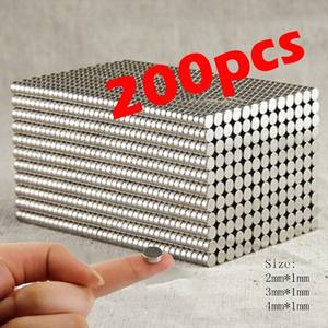 Rare Earth Fridge-Craft Permanent-Magnet N35-Disc Super-Strong 200pcs/400pcs These-Are