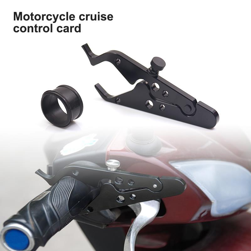 Aluminum Motorcycle Throttle Lock Cruise Control Clamp Assist Cramp for SYM