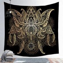 Sun Moon Rune Series Tapestry Wall Hanging Printing Beach Towel Mat Polyester Thin Blanket Yoga Shawl Carpet Home Decor