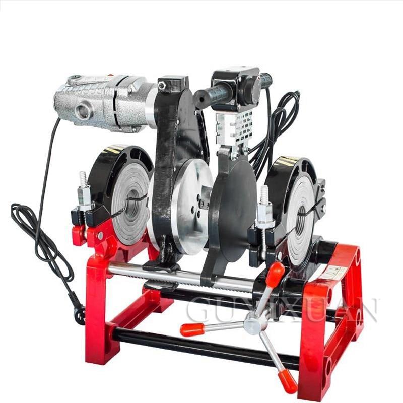 Manual Hydraulic Hot Melt Four-ring Docking Machine PE Pipe Butt Welding Machine