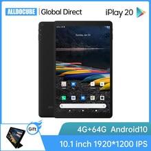 Alldocbe iplay20 10.1 Polegada android 10 tablet pc 4gb ram 64gb rom sc9863a comprimidos 1920*1200 4g lte phonecall iplay 20