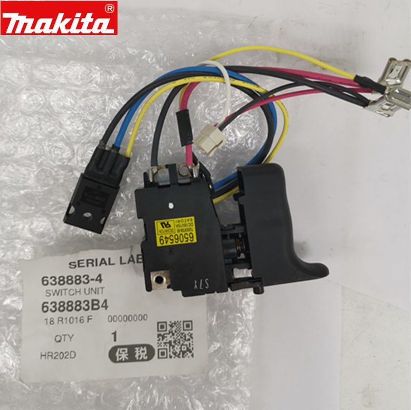 MAKITA 650578-9 6506549 6505789 638883-4 Switch For DHR202 HR202D BHR202RFE BHR202D BHR162D HR162D