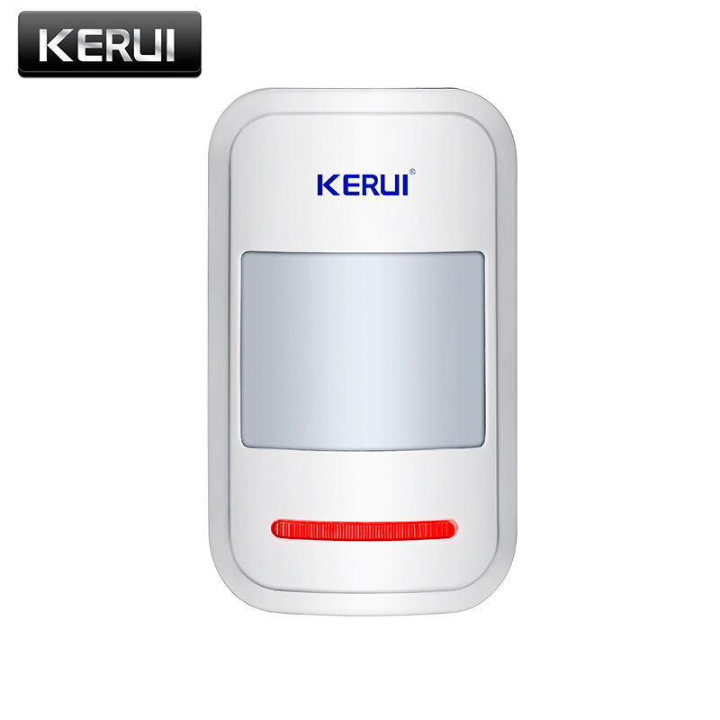KERUI Wireless Intelligent PIR Motion Sensor Alarm Detector For GSM PSTN Home Burglar Alarm System Security Built in antenna|detector alarm|detector gsm|detector motions - title=