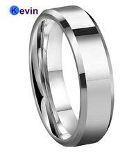 Классическое Обручальное кольцо из карбида вольфрама для мужчин