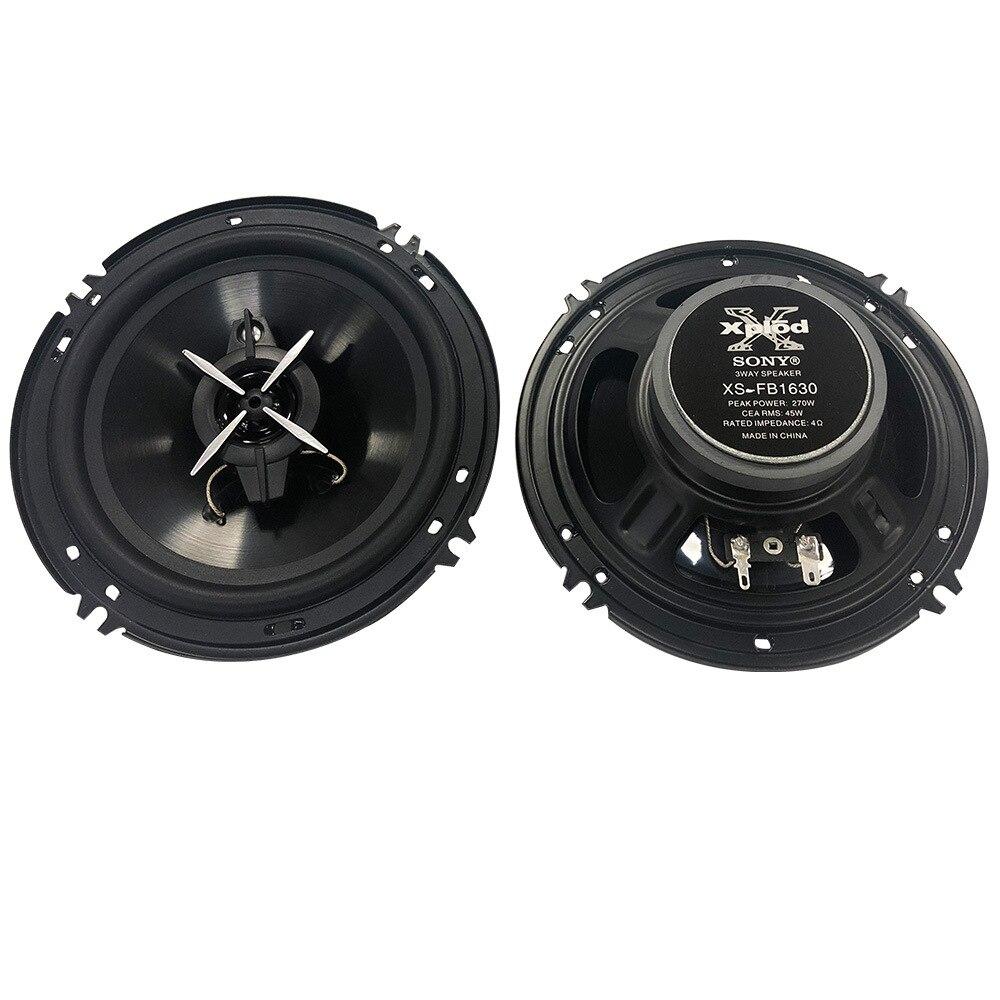 Новый стиль sony 6-дюймовый SX-FB1630 автомобиль изменение коаксиальный Динамик автомобильного аудио Системы весь тон труба