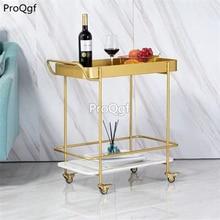 Prodgf 1 Set 68*33*68cm Removable Hotel Trolley