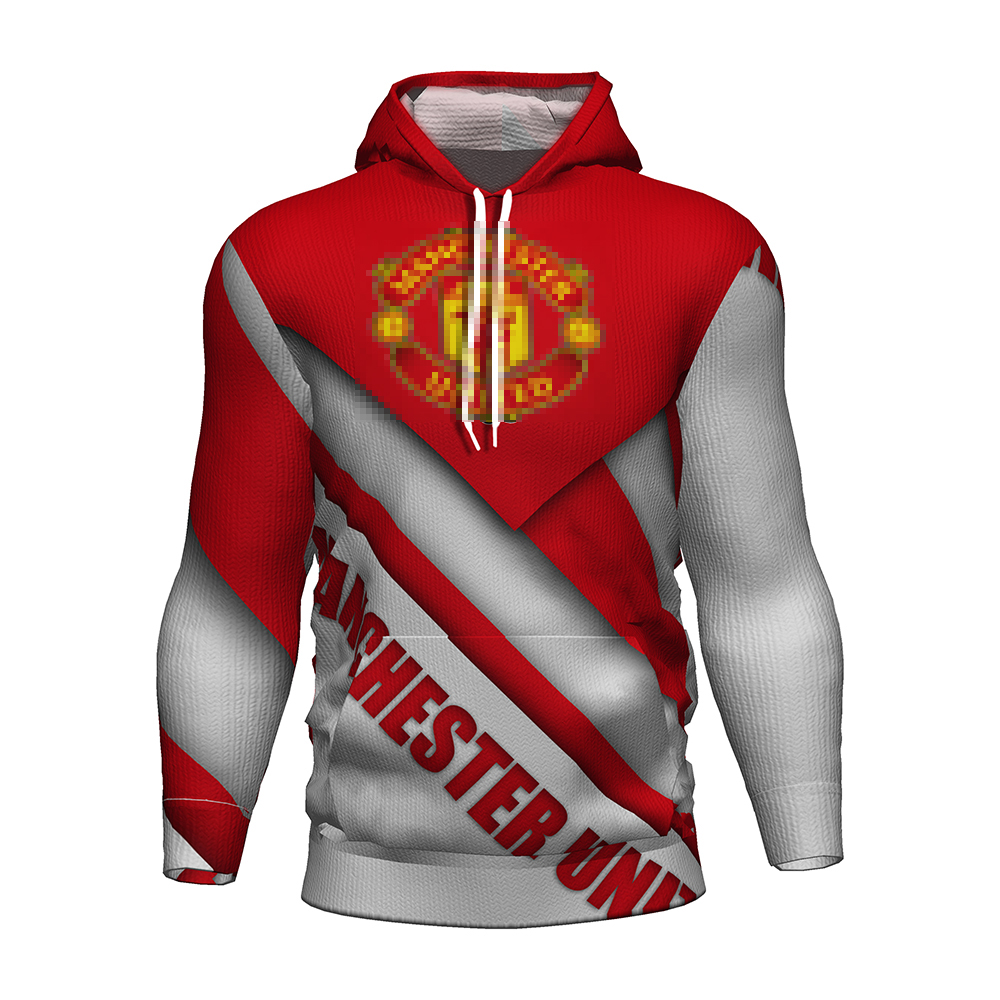 Manchester United Football Soccer Jersey 2018 2019 3d Hoodies Training Tracksuit Manchester United Kit Hoodie Kids Sweatshirt