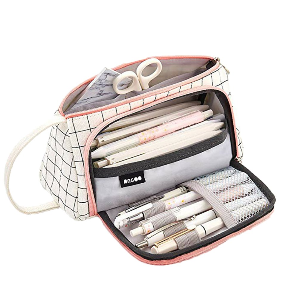 New Super Pencil Case Kawaii Large Capacity Pencilcase School Pen Case Supplies Pencil Bag School Box Pencils Pouch Stationery