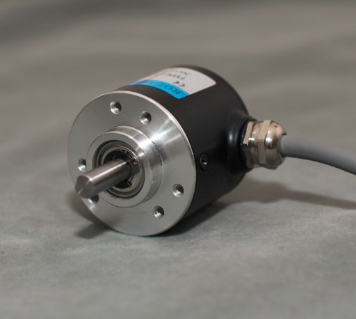 Incremental Photoelectric Rotary Encoder ZSP3806 600 Pulse 600 Line ABZ Three Phase 5-24V