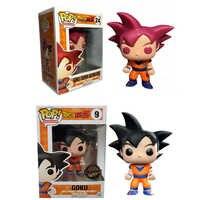 Funko Pop Dragon Ball Z GOKU dessin animé Figure d'anime poupée Pvc Action figurine Collection modèle jouet pour cadeau d'anniversaire Brinquedos F68