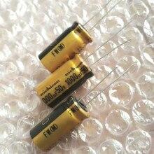 Condensador electrolítico de audio NICHICON FW 1000UF 50V 12,5x25mm, 1000uf 50V, amplificador de filtro 50V 1000UF 1000UF/50V, 10 Uds.