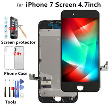 Replacement Screen For iPhone 7 LCD Display Digitizer Touch Screen Assembly With Frame for iPhone 6 6S ,Black White