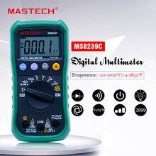 電圧電流容量周波数温度テスターオートレンジ DC Mastech multimetro