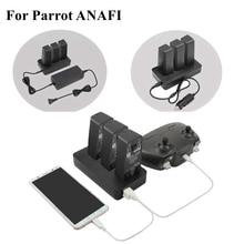 Многофункциональное балансирующее устройство для быстрой зарядки, адаптер, автомобильное зарядное устройство, уличное зарядное устройство для аккумуляторов с USB портом, аксессуары для дрона попугаев Анафи