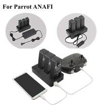Multi Funktion Balance Schnelle Ladegerät Adapter Auto Ladegerät Outdoor Batterie Ladegerät mit USB Port Für Papagei ANAFI Drone Zubehör