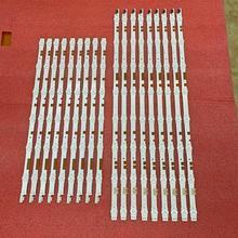 新 2 セット = 36 個ledバックライトストリップサムスンUE55JU6800K UE55JU6870U V5DR_550SCA_R0 550SCB_R0 BN96 38481A 38482A 38880A 38881A