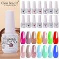 Clou Beaute 8 мл 115 цветов Гель-лак для ногтей верхнее Базовое покрытие Полупостоянный УФ-блеск Гибридный гель лак для ногтей