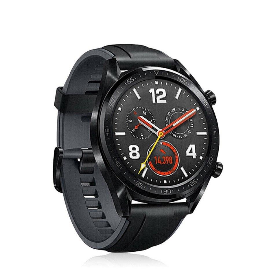 Reloj inteligente Original Global HUAWEI GT resistente al agua con rastreador de frecuencia cardíaca GPS hombre rastreador deportivo reloj inteligente para Android IOS - 3