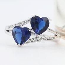 Женское кольцо с цирконом размеры 5 13