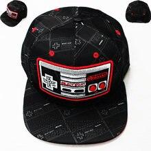 2021 nova máquina de jogo clássico bordado nintendo hip hop chapéu boné de beisebol