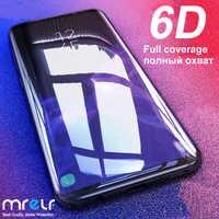 6D Tempered Glass for Samsung Galaxy A50 A70 A40 A10 Screen Protector Protection on Protective Glass for Samsung A50 A10 A70 A40S M20 M30 M40 A40S A60 A90 A20 A80 A40 Safety Glass for Samsung A50 A10 A70 A30 A40