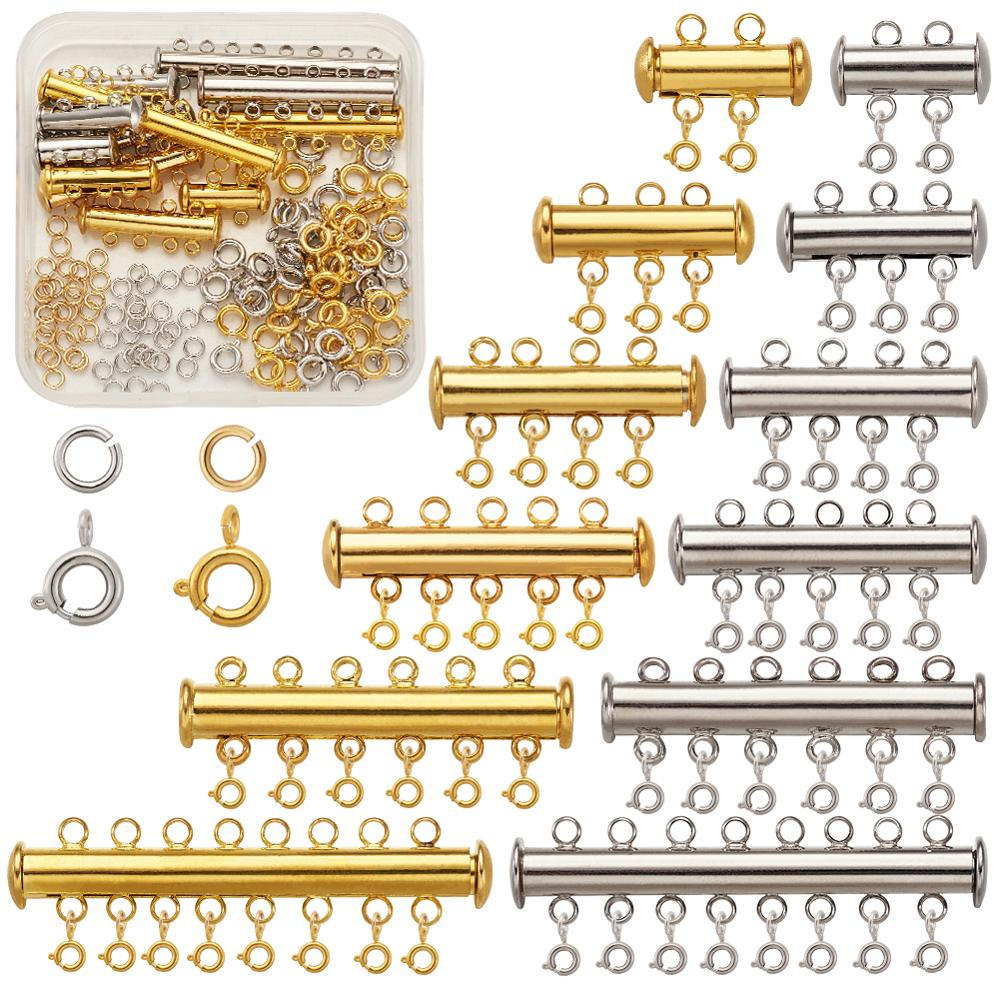 10Pcs Gold  Adjustable Size Ring Stitch Finger Thimble Sewing DIY Craft ToolBL