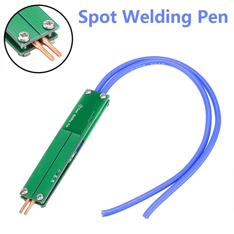 Battery Spot Welding Pen DIY Integrated Handheld Spot Welder Copper Accessory
