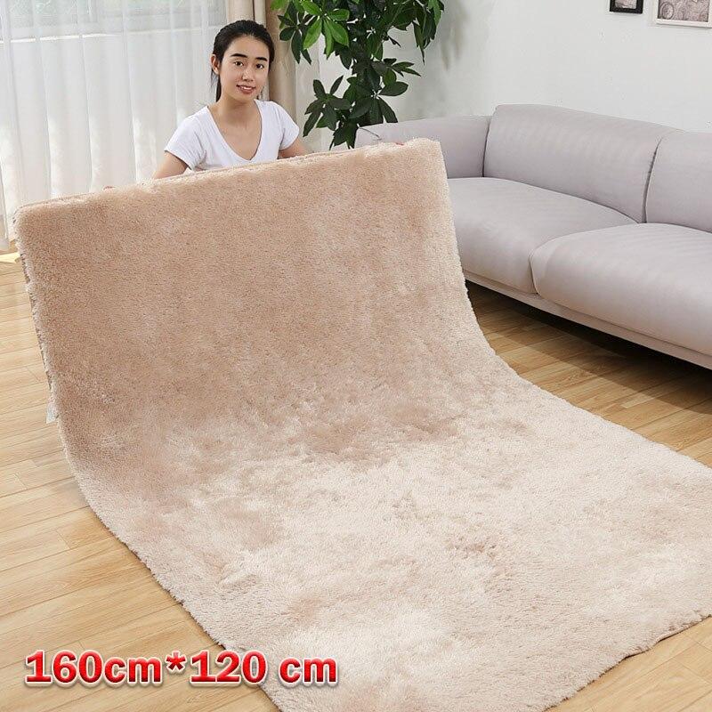 120cm * 160cm 초대형 가짜 토끼 모피 카펫 부드러운 거실 침실 따뜻한 카펫 패션 홈 욕실 장식 섬유