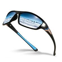 Lunettes de soleil polarisées classiques UV400 pour homme, verres solaires Vintage pour la conduite, la pêche