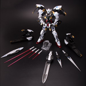 Image 5 - BANDAI MG 1/100 PB 00 GN 001/hs A01 Avalanche Exia GUNDAM Black and White Snow Color Action Figures Christmas Gift Toys